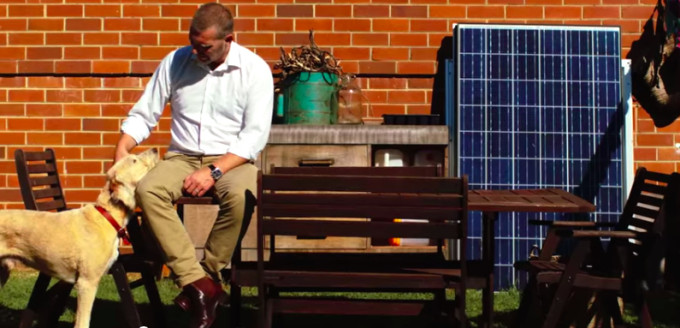 Nigel Morris has been working on solar in Australia for 23 years. Credit: Jess Christiansen