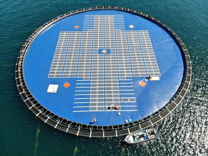 Ocean Sun's 2MW project in Albania (pictured) was one of many under the Intersolar spotlight (Credit: Ocean Sun)