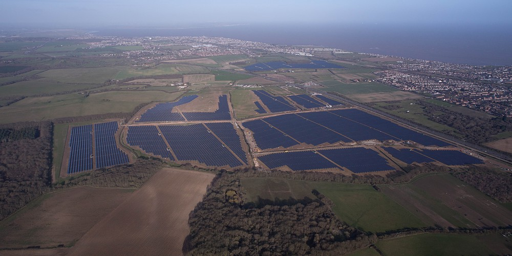 Owl's Hatch solar farm, Herne Bay, Kent. Source: British Solar Renewables