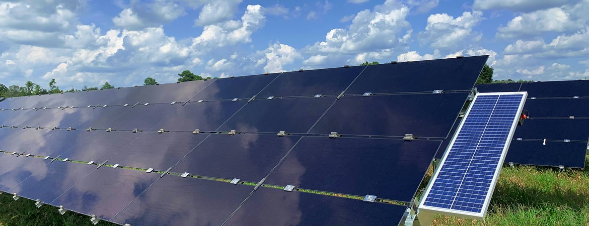 South Carolina now benefits from over 880MW of solar in operation, enough power for approximately 94,000 households. Image: Cypress Creek