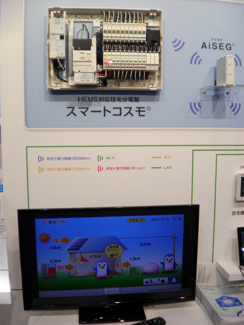 Panasonic (and others) have already been showing off user-friendly solar-plus-storage kits and home energy management in Japan for several years, but it seems the business case is now finally mainstream. RTS PV's Izumi Kaizuka said. Image: Andy Colthorpe