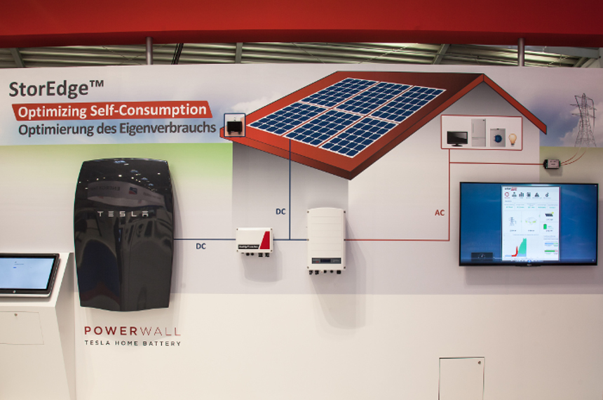 SolarEdge's StorEdge with Tesla Powerwall. Image: SolarEdge.