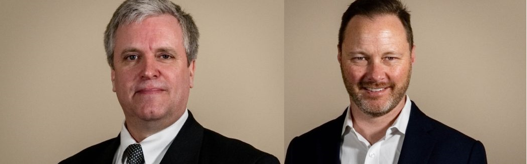 Craig Eastwood (left) and Jan Jacobson (right). Source: Powin Energy