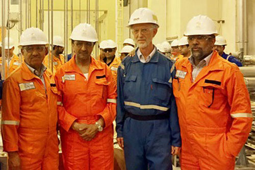 Polysilicon start-up Qatar Solar Technologies (QSTec) has finally started production at its plant in Qatar. Image: QSTec