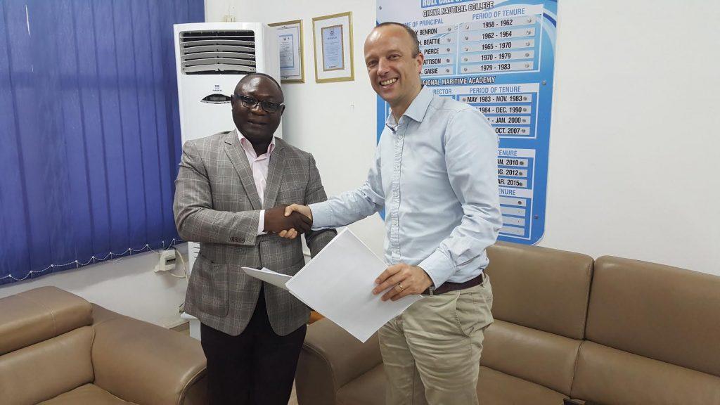 Source: Ghana's Regional Maritime University