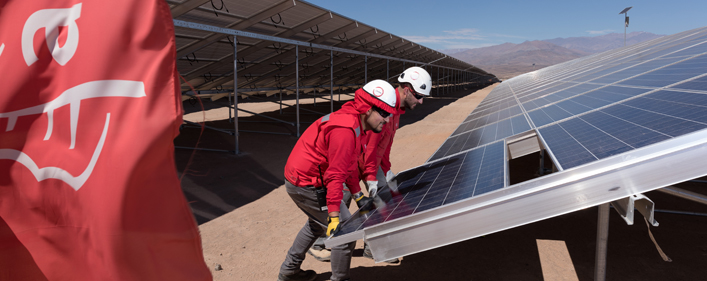 Acciona recently announced plans to invest €2 billion (US$2.15 billion) in renewables by 2020. Credit: Acciona