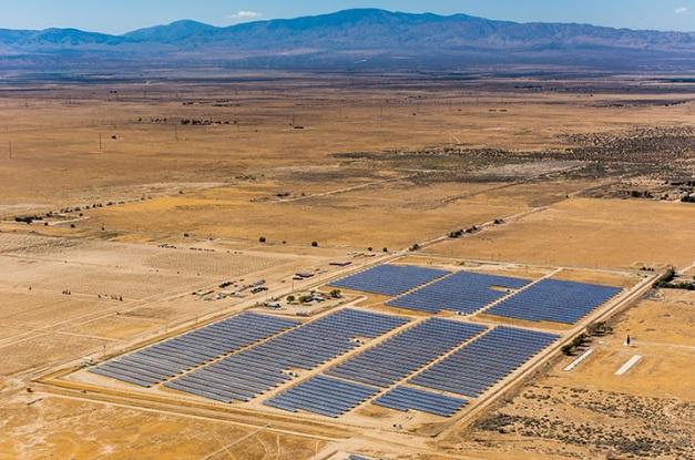 sPower's Lancaster plant in California. Image: sPower.