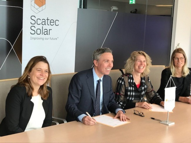 The deal signed by Scatec Solar and FMO will unlock funding for 32MW Kamianka (Credit: FMO)