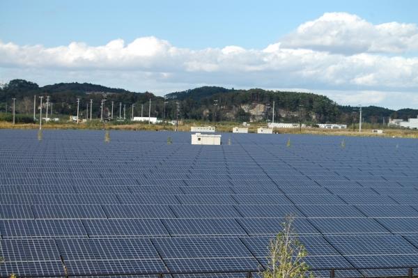 'Mega solar' In Japan. Image: Andy Colthorpe.