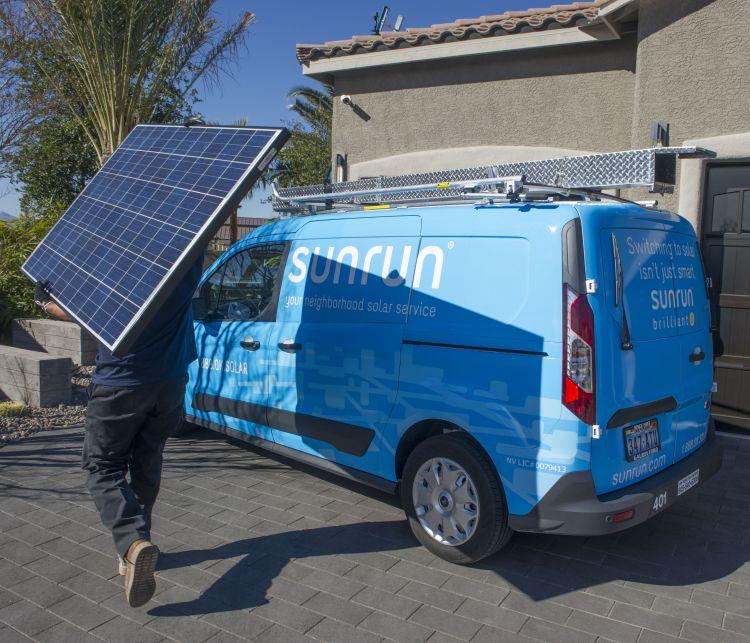 SunRun CEO Lynn Jurich claimed the plan could lead to an additional 1 million solar installations. Source: SunRun.