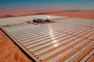 The National Bank of Abu Dhabi will help finance renewable energy and other clean projects in the West-East corridor. Image: Masdar