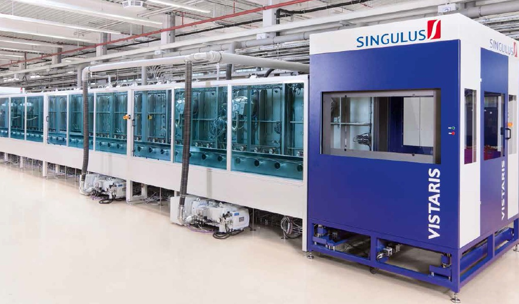 Recently, Singulus announced that it had received a partial pre-payment from the customer that was said to be in the single-digit million euro range, with the remaining balance due in the following weeks. :Image: Singulus