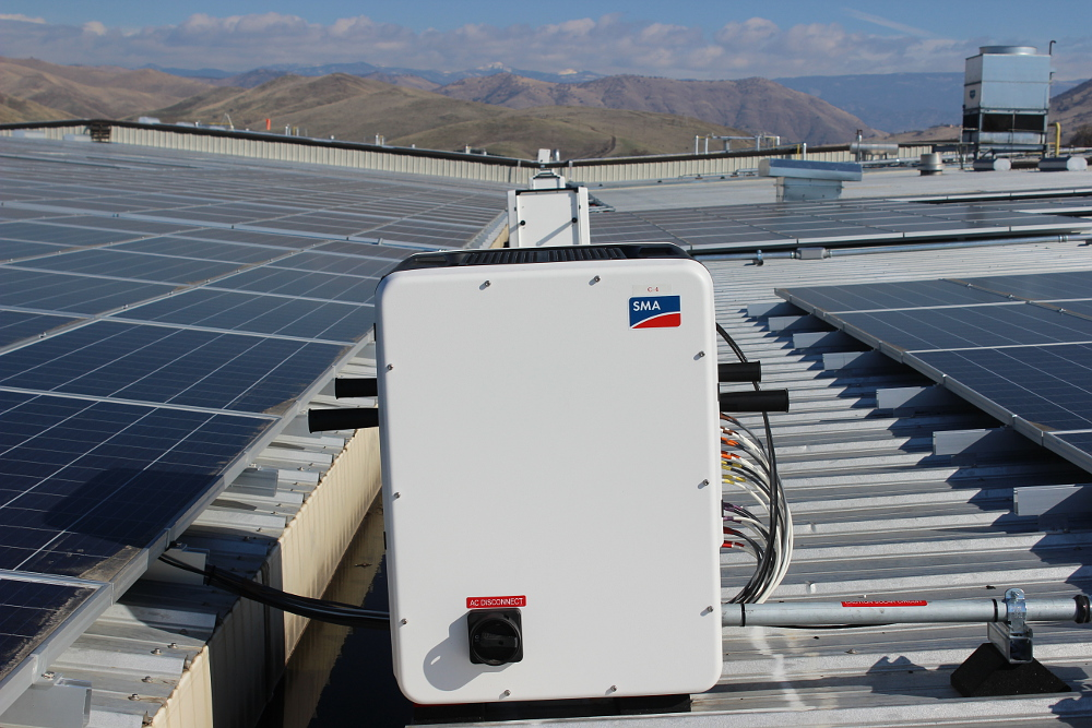 SMA Solar had been ranked no. 2 in the US commercial market in 2016. Image: SMA Solar