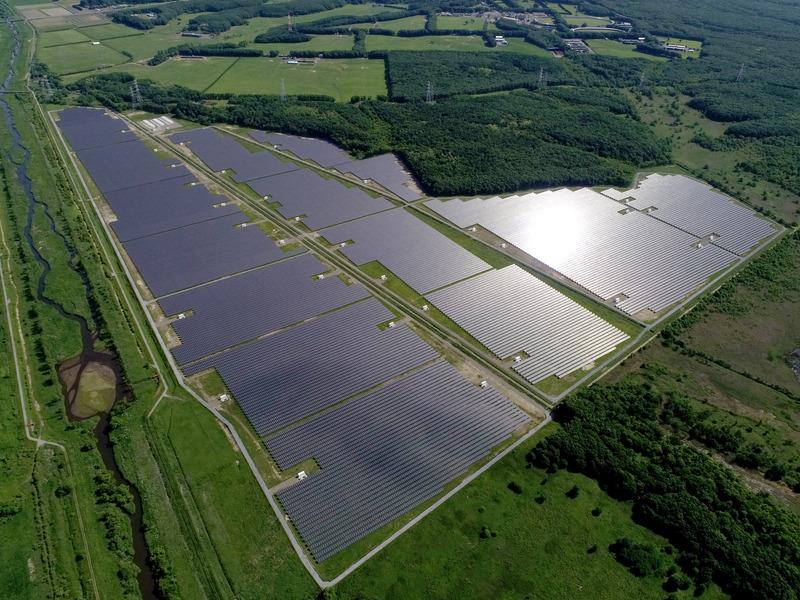 The project in Hokkaido, Japan. Image: SB Energy.