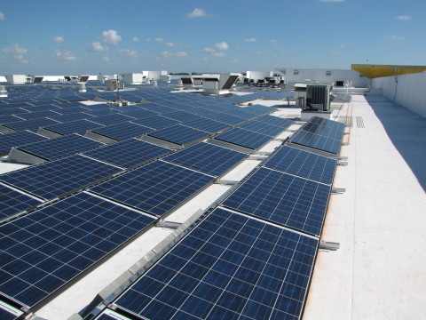Companies such as IKEA tend to self-finance their own on-site PV projects. Image: IKEA