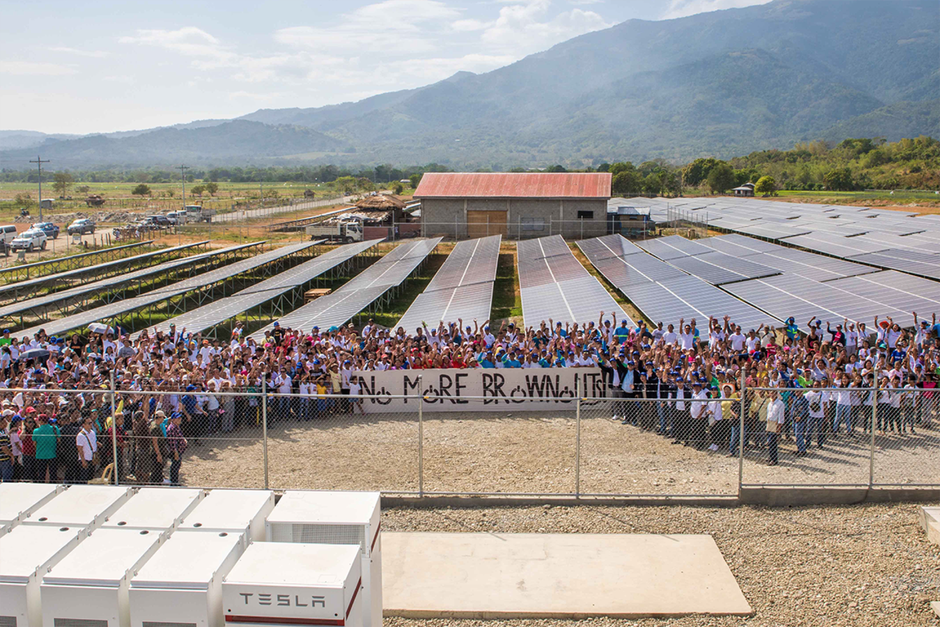 The Solar Para Sa Bayan mini-grids deliver low-cost electricity to consumers at zero cost to the Filipino government. Credit: Solar Philippines