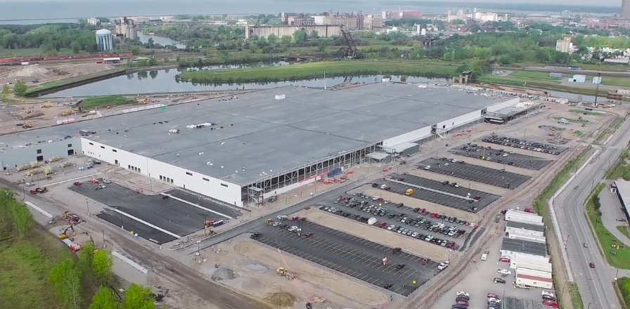 Panasonic said that a new entity, Panasonic Eco Solutions Solar New York America would be established within its US-based Panasonic Corporation of North America division to produce cells and modules at the facility. Image: SolarCity