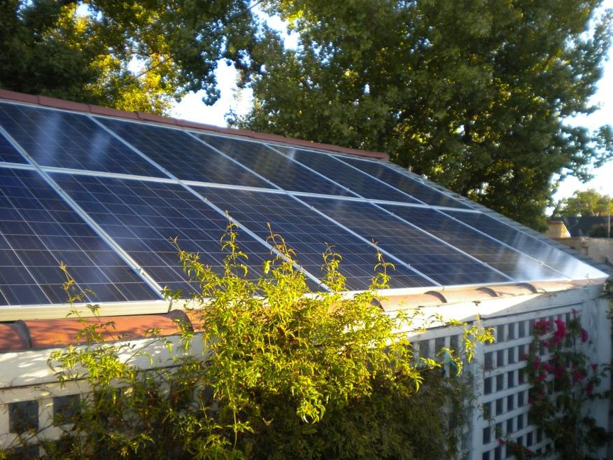These four PV projects will provide power to more than 2,000 households. Image: SolarCity
