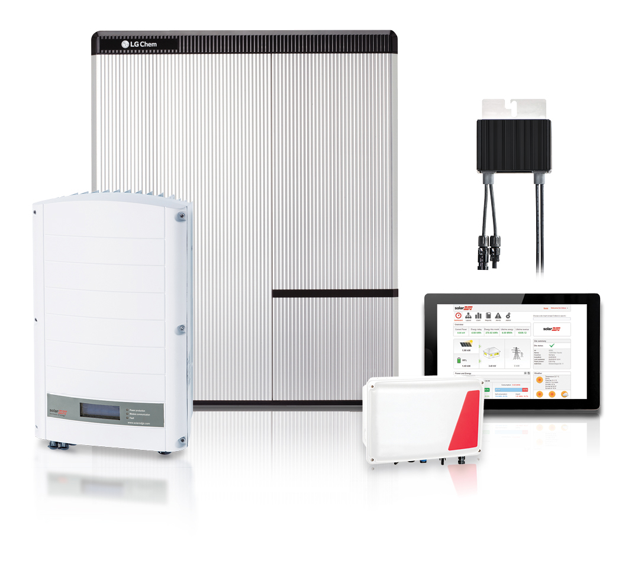 SolarEdge's Storedge solution with LG Chem battery. Image: SolarEdge.