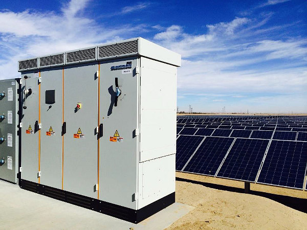Sungrow's PV inverter shipments increased over 48% in 2017, from around 11,100MW in 2016. Image: Sungrow