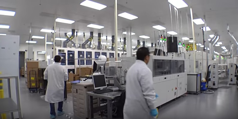 US-based PV module manufacturer Suniva has officially opened its 250MW capacity expansion at its US headquarters, located in Norcross, Atlanta, Georgia. Image: Suniva