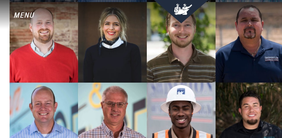 SRE said that the SwinertonRenewable.com website was intended to highlight the many human faces of the US solar energy, including profiles for each member of the SRE team, the site allows visitors to meet the individuals who built over two gigawatts of SRE projects, according to the company. Image: SRE