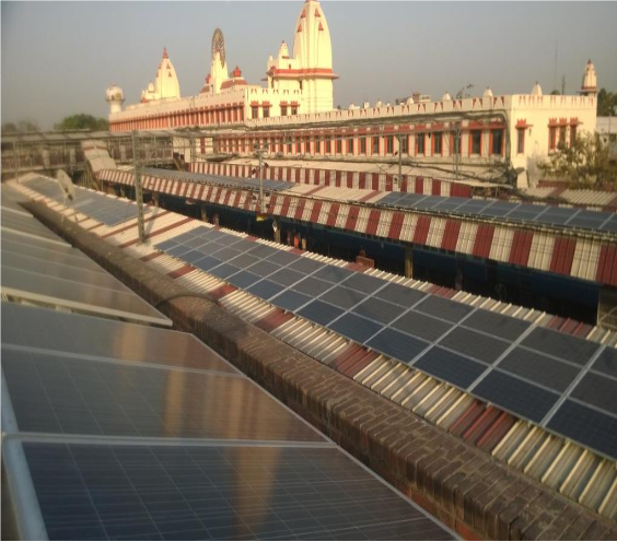 Indian Railways currently spends a quarter of its income on energy bills amounting to US$5 billion. Credit: Ministry of  Railways