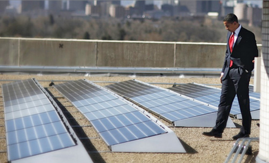 CleanChoice Energy and New Columbia Solar have partnered to provide 1.825MW of proposed 'Community Solar' capacity available to residents of the District of Columbia, claimed to be the largest to date in the district. Image: White House